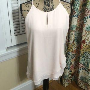 Catherine Malandrino blush chiffon blouse - NEW